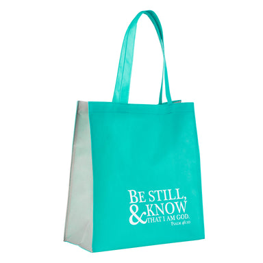 Image of Be Still and Know - Psalm 46:10 Tote Bag other