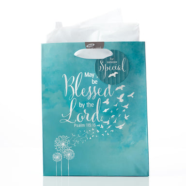 Image of Soar Collection, May You Be Blessed - Psalm 115:15 Medium Gift Bag other