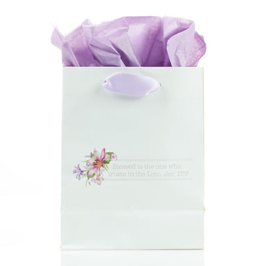 Image of Blessings from Above: May Your Day Be Blessed - Jeremiah 17:7 Small Gift Bag other