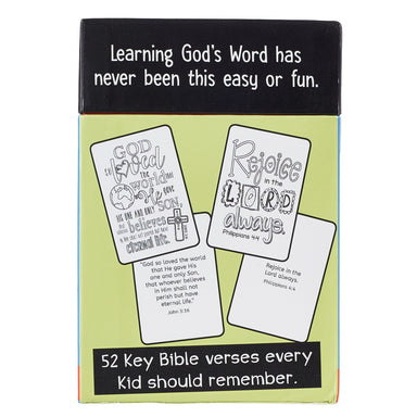 Image of Coloring Cards 52 Verses for Kids (Box Of 52) other