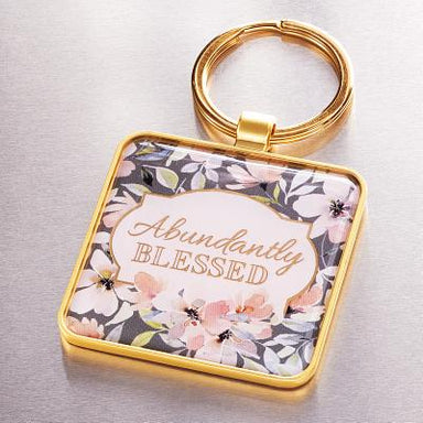 Image of Abundantly Blessed Keyring other