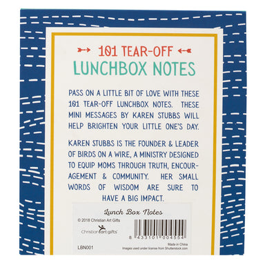 Image of 101 Inspirational Lunch Box Notes other