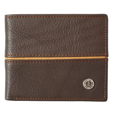 Image of Hope as an Anchor Dark Brown Genuine Leather Wallet   - Hebrews 6:19 other