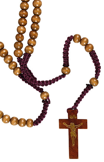 Image of Wooden Corded Rosary other