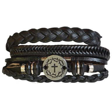 Image of Faith Gear Guy's Bracelet - Crown Cross other