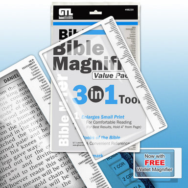 Image of Bible Magnifier 3-in-1 Pack other