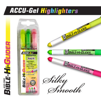 Image of Bible Highlighters 3Pk Yellow/Pink/Green other