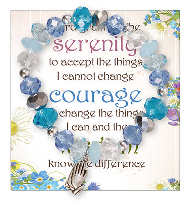 Image of Serenity Prayer Beaded Bracelet other