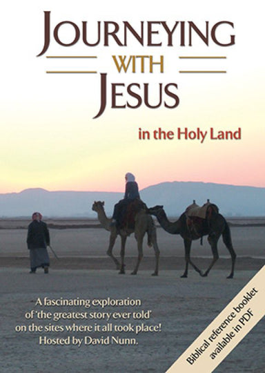 Image of Journeying with Jesus in the Holy Land DVD other