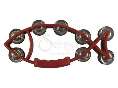 Image of Fish Tambourine Red other