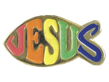 Image of Lapel Pin Jesus Fish other