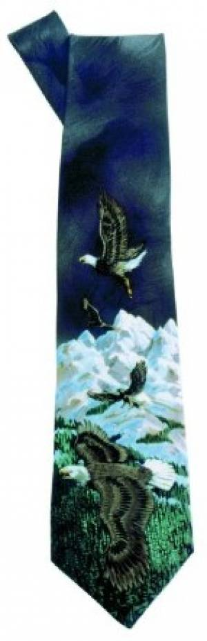 Image of Tie: Eagles Black other
