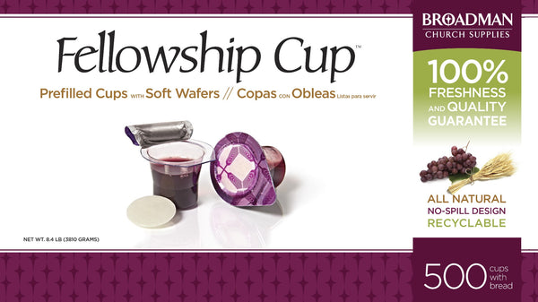 Image of Fellowship Cup Box of 500 - Prefilled Communion Bread & Cup other