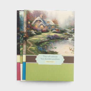 Image of Thomas Kinkade - Thinking of You - 12 Boxed Cards other