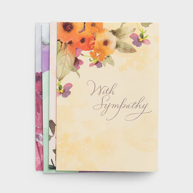 Image of Sympathy - Comfort and Prayers - 12 Boxed Cards other
