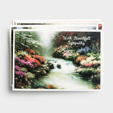 Image of Thomas Kinkade - Sympathy - 12 Boxed Cards, KJV other