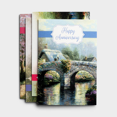 Image of Anniversary - Thomas Kinkade - 12 Boxed Cards other