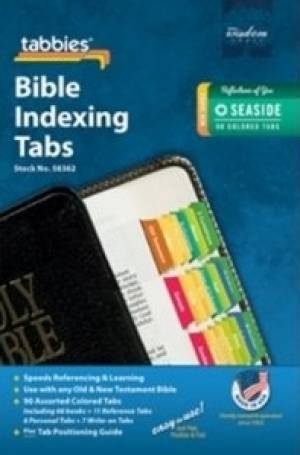 Image of Bible Index Tabs Seaside Colored other