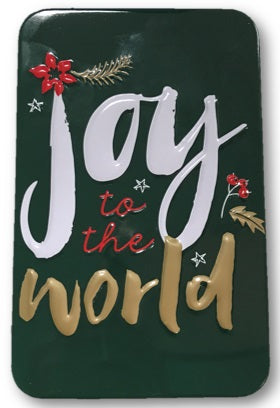 Image of Joy to the World Metal Tin other