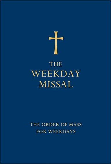 Image of Weekday Missal: Blue Edition, Imitation Leather other