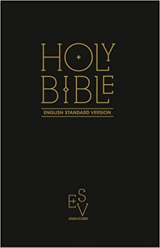 Image of ESV Gift and Award Bible, Black, Paperback, Anglicised, Presentation Page, Double-Column other