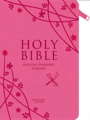 Image of ESV Pink Compact Zip Bible other