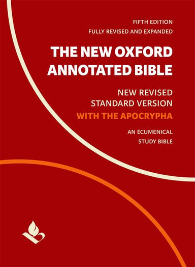 Image of NRSV Oxford Annotated Bible, Red, Hardback, Apocrypha, Book Introductions, Essays, Maps, Diagrams, Timelines, Parallel Text, Weights & Measures, Concordance other