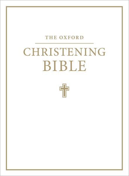 Image of KJV Christening Bible: White, Imitation Leather other