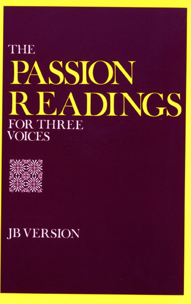 Image of The Passion Readings for Three Voices other