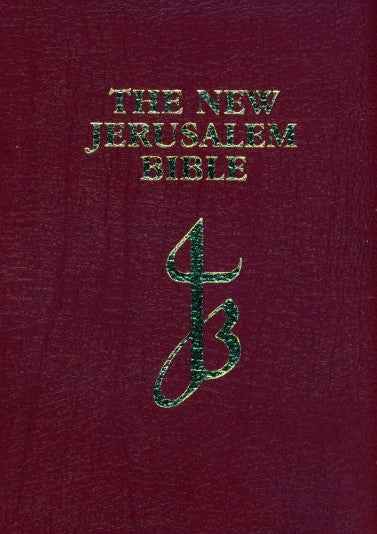 Image of New Jerusalem Pocket Bible: Red, Leather other