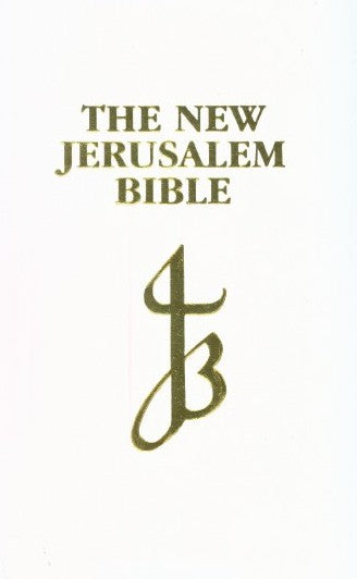 Image of NJB Presentation Bible: White, Bonded Leather other