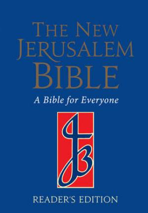 Image of New Jerusalem  Readers Edition Bible, Blue, Paperback, Glossary, Chronological History, Introductions to Every Book, Footnotes other