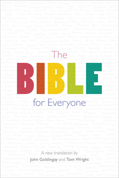 Image of The Bible for Everyone, White, Hardback, Series of Commentaries, Introductions, Maps and Glossaries of Key-Words other