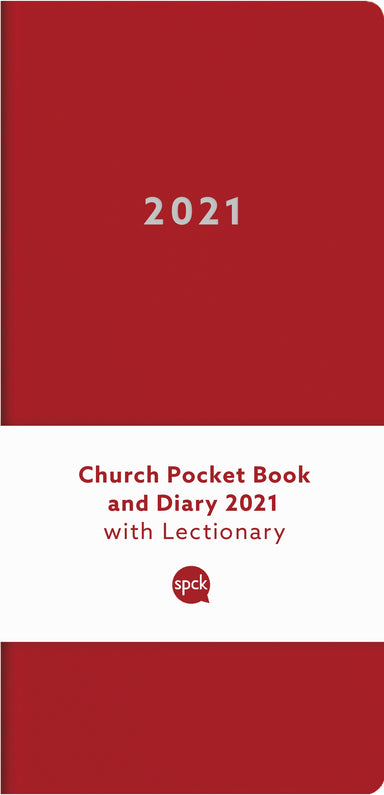 Image of Church Pocket Book and Diary 2021 Red other