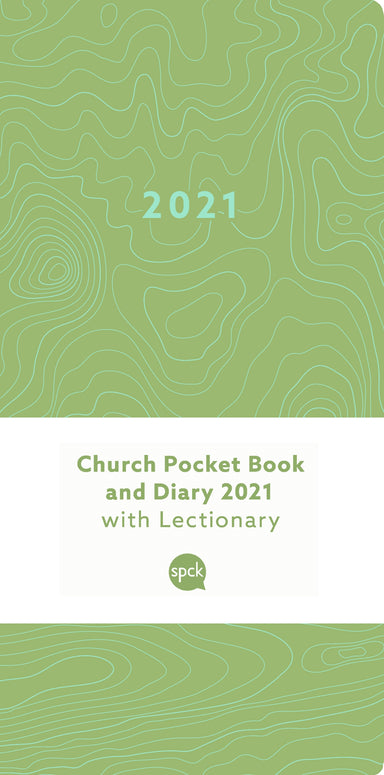 Image of Church Pocket Book and Diary 2021 Green Earth other