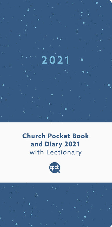 Image of Church Pocket Book and Diary 2021 Blue Sea other