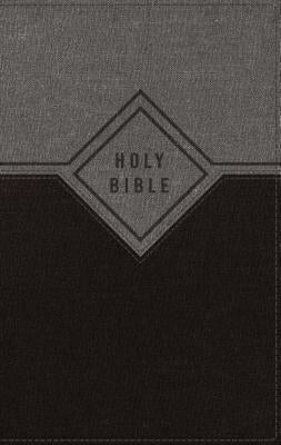 Image of Niv, Premium Gift Bible, Leathersoft, Black/Gray, Red Letter Edition, Comfort Print other