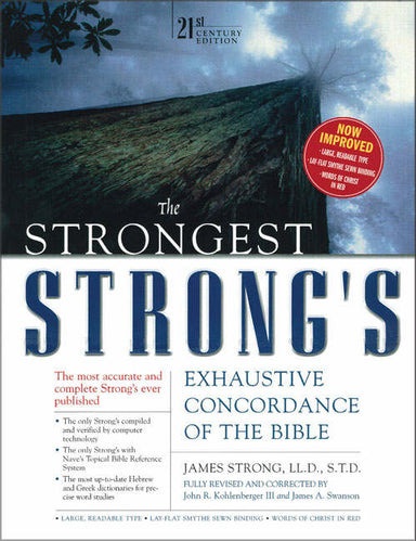 Image of The Strongest Strong's Exhaustive Concordance of the Bible other