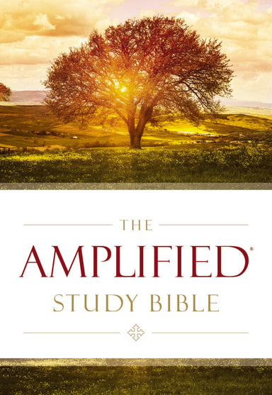 Image of Amplified Study Bible, Brown, Hardback, Large Print, Study and Practical Theological Notes, Book Introductions, Translators' Footnotes, Topical Index, Full-Colour Maps other