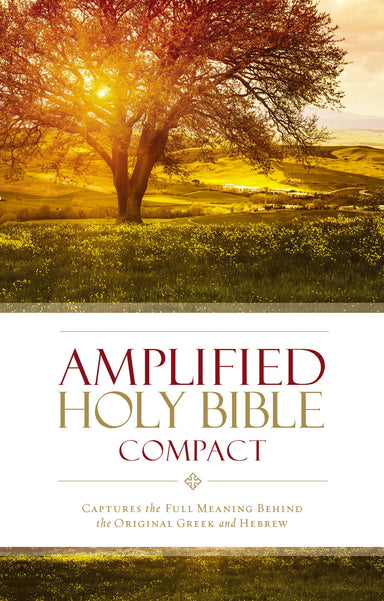 Image of Amplified Bible Compact, Brown, Hardback, Footnotes, Presentation Page, Translation Introduction other
