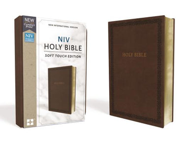 Image of NIV, Holy Bible, Soft Touch Edition, Leathersoft, Brown, Comfort Print other