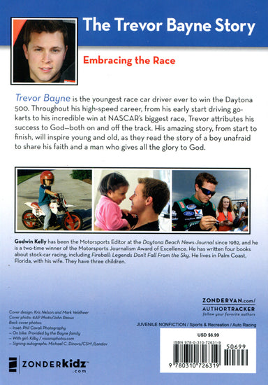 Image of Driven by Faith: The Trevor Bayne Story other