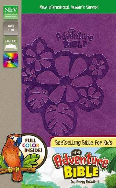 Image of NIrV Adventure Bible for Early Readers, Purple, Imitation Leather, Full Color,  Articles, Illustrations, Hands-On Activities, Introductions, Dictionary, Maps other