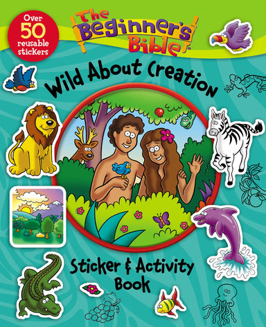 Image of The Beginner's Bible Wild About Creation Sticker and Activity Book other