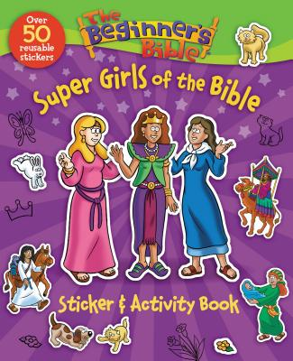 Image of The Beginner's Bible Super Girls of the Bible Sticker and Activity Book other