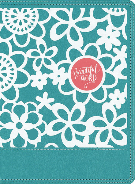 Image of NIV Beautiful Word Coloring Bible for Girls, Leathersoft Over Board, Teal: Hundreds of Verses to Color other