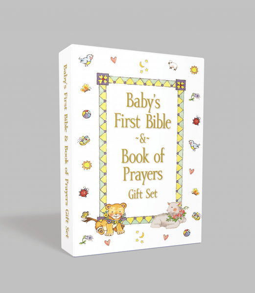Image of Baby's First Bible and Book of Prayers Gift Set other