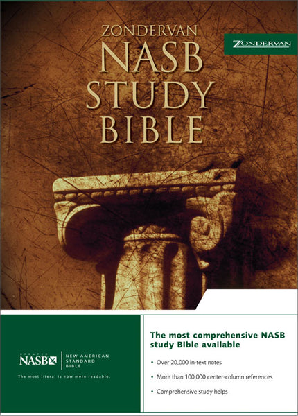 Image of NASB Study Bible: Black, Bonded Leather other