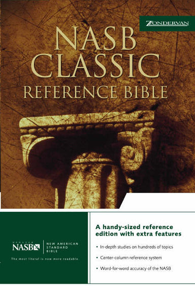 Image of NASB Classic Reference Bible: Black, Bonded Leather other