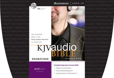 Image of KJV Complete Audio Bible: Dramatised for CD other